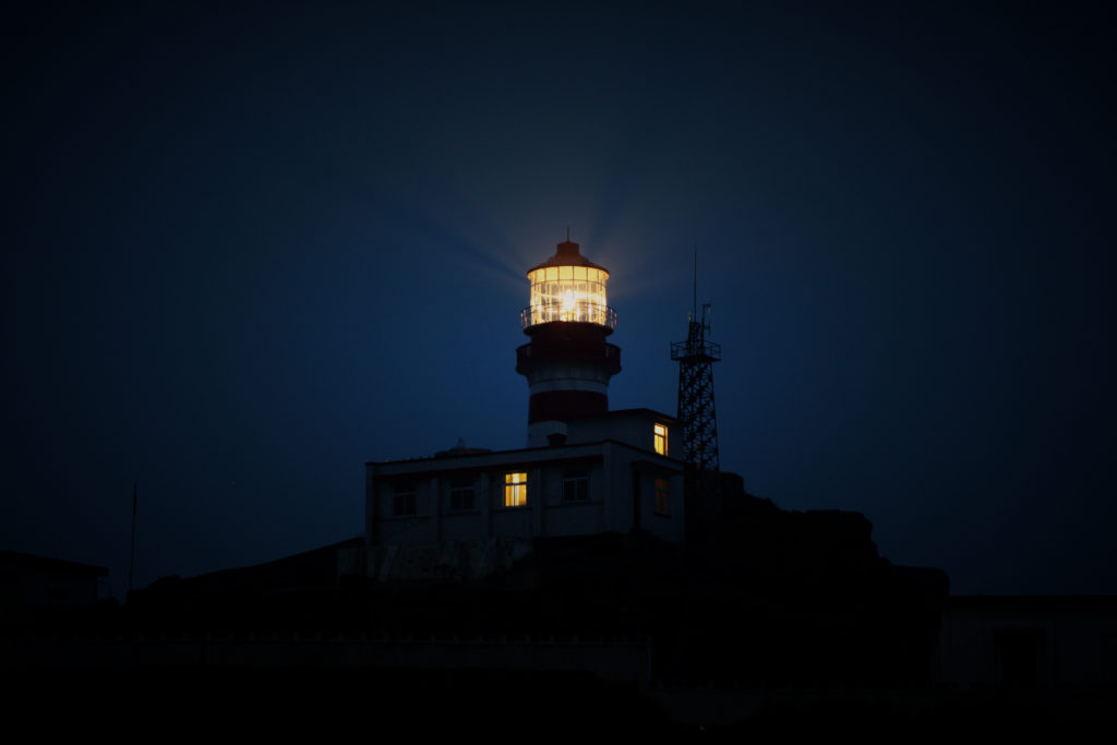 A lighthouse shining in the dark is my leadership metaphor