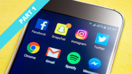 social media apps on a smartphone part 1